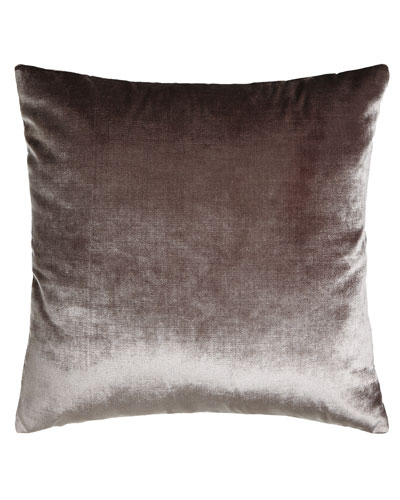 Venice Pewter Knife-Edge Pillow