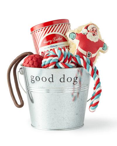 Silver Santa Holiday Gift Set