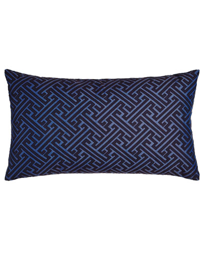 Amazed Blue Pillow