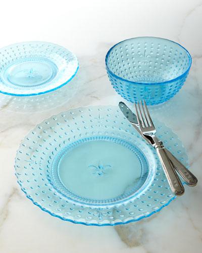 12-Piece Renaissance Blue Dinnerware Service & Blue Microwave Safe Dinnerware | Neiman Marcus