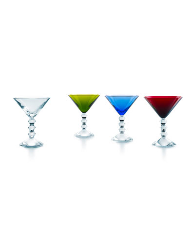 Vega Martini Glasses, 4-Piece Set