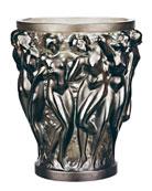 Bacchantes Small Bronze Vase