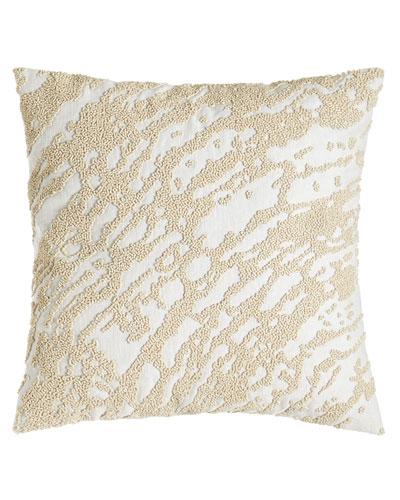 Rhythm Abstract Beaded Pillow, 14