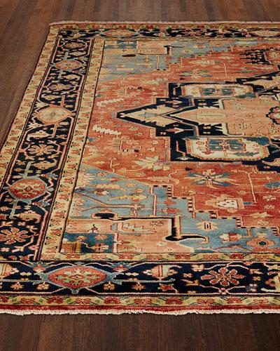 Rosso Fine Serapi Rug, 12' x 15'
