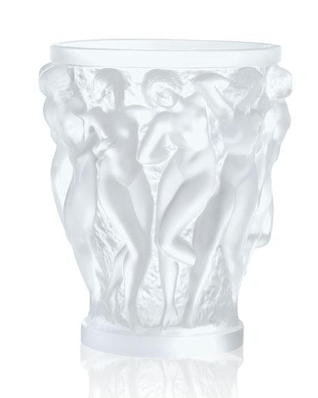 Lalique Bacchantes Clear Vase