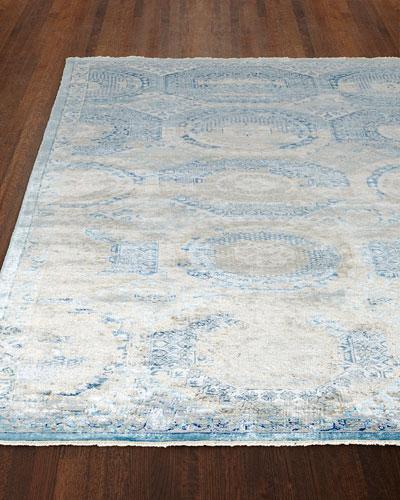 Venetian Blue Fine Rug, 12' x 15'