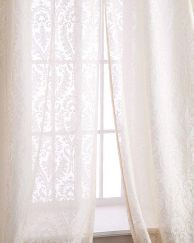 Sweet Dreams Each 52W x 108L La Rochelle Curtain