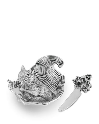 Squirrel Dip Dish Set