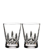 Lismore Pops Clear Double Old-Fashioneds, Set of 2