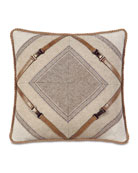 Eastern Accents Mitered Ashbrooke Pillow