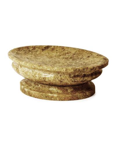 Fossil Stone Soap Dish