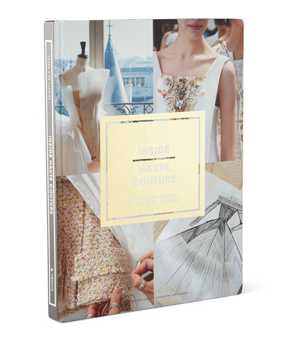 Inside Haute Couture Hardcover Book