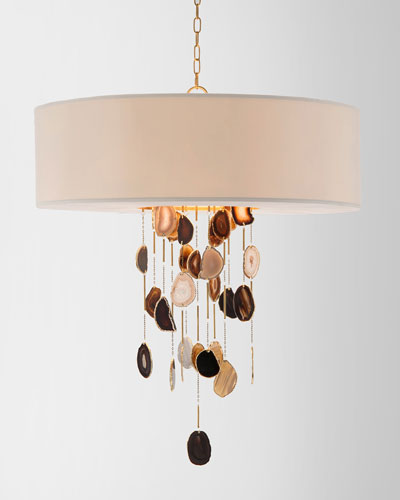 Falling Agate 6-Light Chandelier