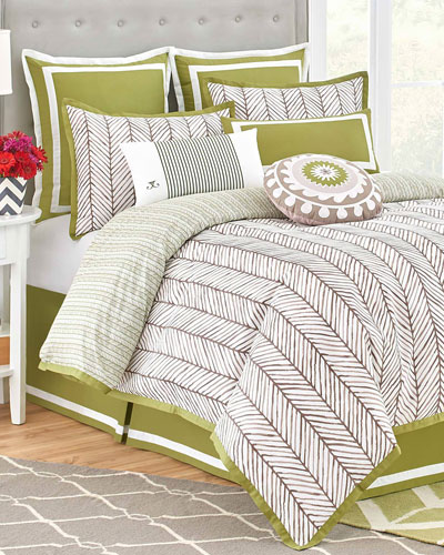 Twin Arrows 3-Piece Comforter Set