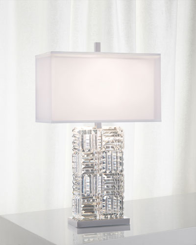Crystal Prisms Table Lamp