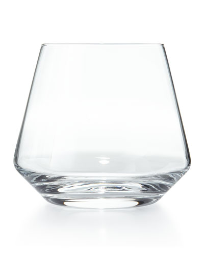 Pure Stemless Red Wine Glasses, Set of 6