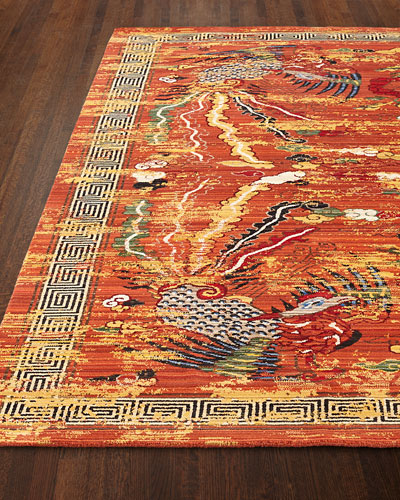 Imperial Persimmon Rug, 5'6