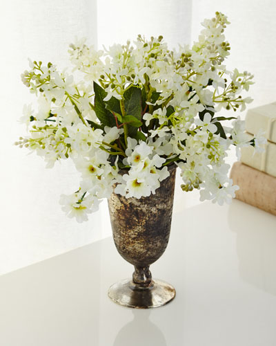 Lavish Lilac Faux-Floral Arrangement