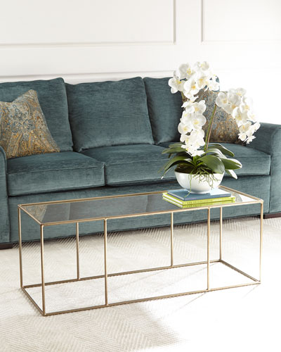 Quick Look. Arteriors · Dowd Mirrored Coffee Table. Available In Antique  Brass