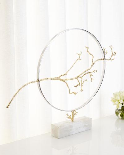 Hoop & Branch Sculpture