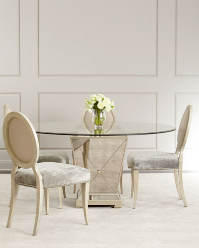 Mirrored Dining Room Furniture Neiman Marcus
