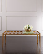 Golden Curves Coffee Table