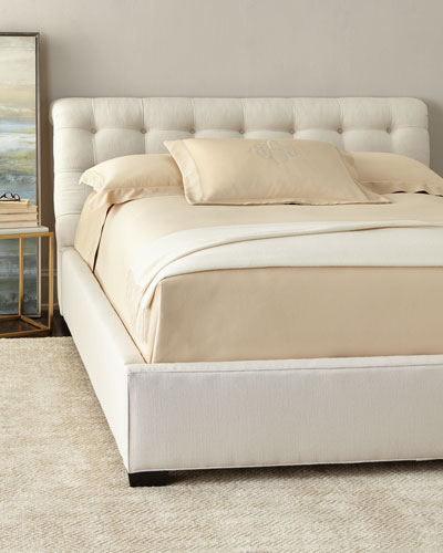 Gloria Tufted Queen Bed