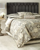Diamond-Tufted Queen Headboard