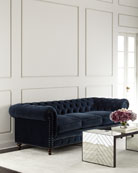 Tia 3-Cushion Chesterfield Sofa