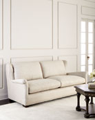 Queen Buckwheat Linen Sofa