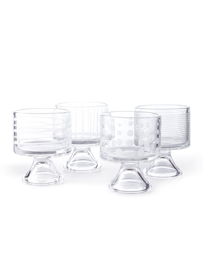 Cheers Mini Dessert Bowls, 4-Piece Set