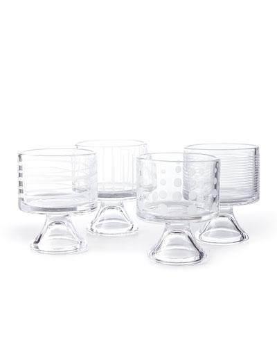 Cheers Mini Dessert Bowls, 4-Piece Set