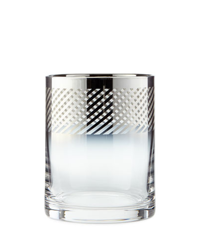 Cheers Metallic Double Old-Fashioneds, 4-Piece Set