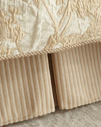 Queen/King Fauna Stripe Dust Skirt