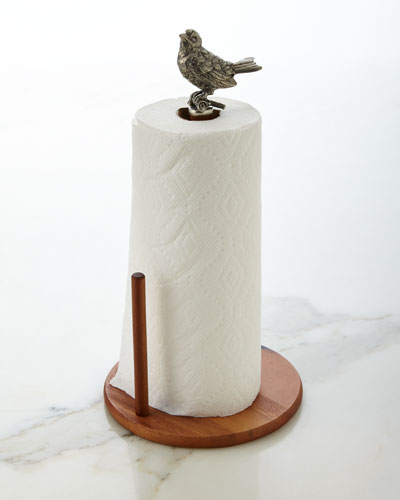Vagabond House Song Bird Paper Towel Holder