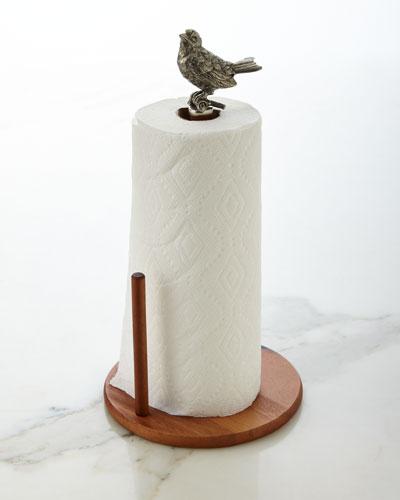 Vagabond House Song Bird Paper Towel Holder