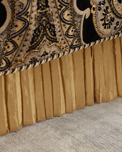 FORTUNI QUEEN BED SKIRT