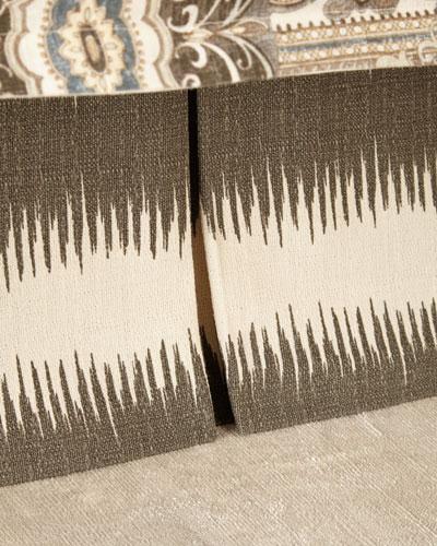 Queen Phoebe Stripe Dust Skirt