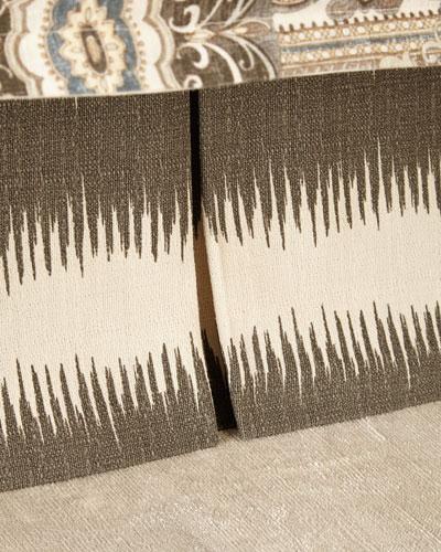 King Phoebe Stripe Dust Skirt