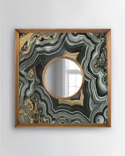Agate-Design Mirror