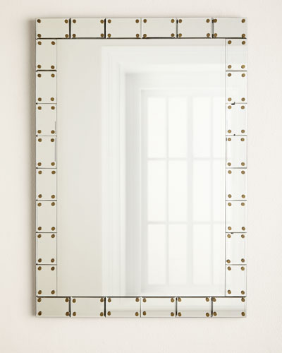 Mirror-Tile Framed Mirror