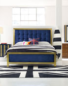 Balthazar Tufted King Bed