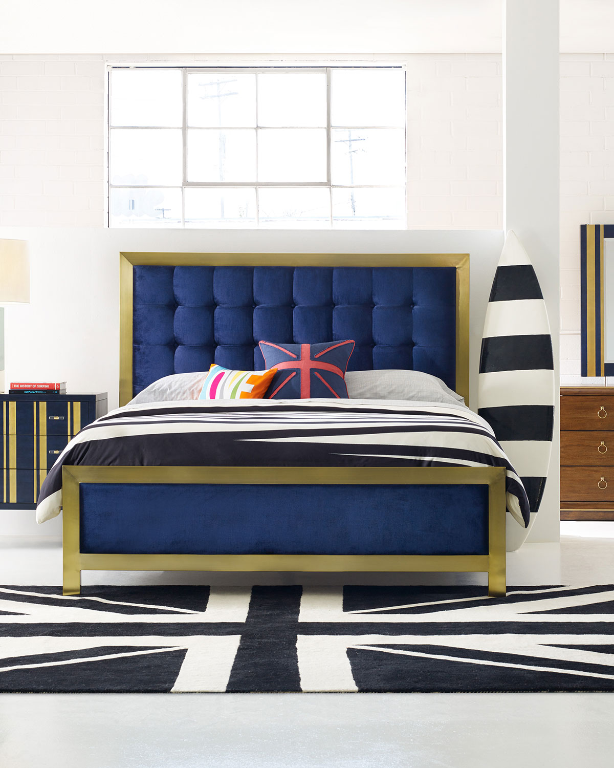 Cynthia Rowley For Hooker Furniture Balthazar Tufted California King