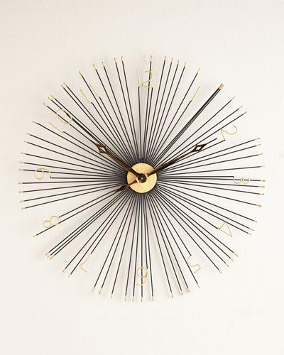 Shockfront Wall Clock