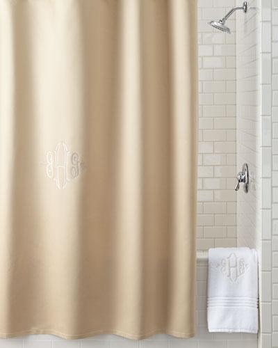 Gray Shower Curtain | Neiman Marcus