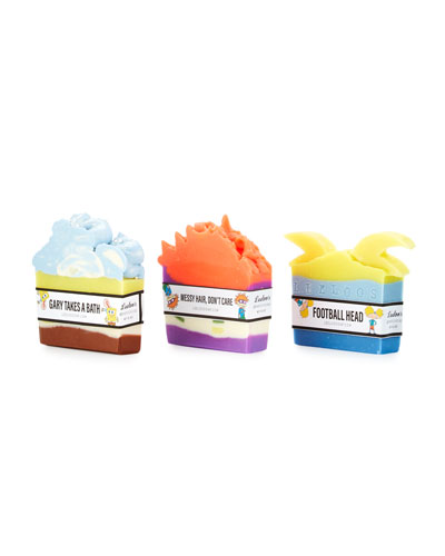 Leeloo Soap Nickelodeon Soap, 3-Piece Set