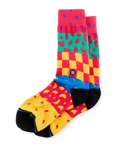 Double Dare Printed Socks