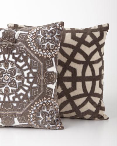 Lantern Gray Pillow