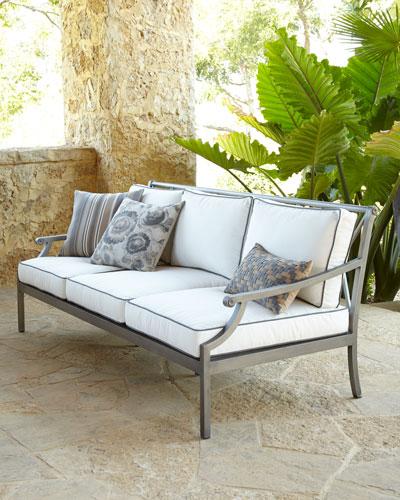 Neiman_marcus Charlotte Outdoor Sofa