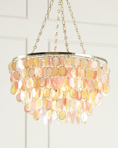 Multi-Color Aurora 3-Light Chandelier
